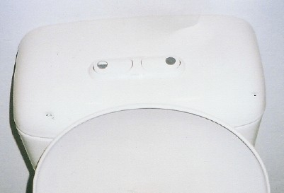 Australian Two Button Toilet