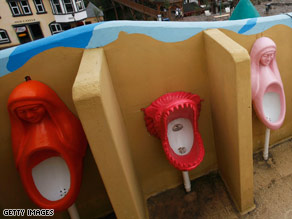World\'s Largest Public Toilet
