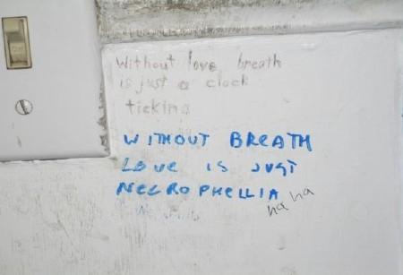 Bathroom Poetry The International Center For Bathroom Etiquette - Bathroom poetry